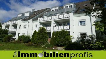1445 - Moderne und altersgerechte Eigentumswohnung mit Gartenanteil in Hof