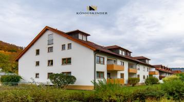 Gut geschnittene, Helle 3-Zimmer Wohnung in Ruhiger Lage. Mit Balkon und TG + Außen Stellplatz!