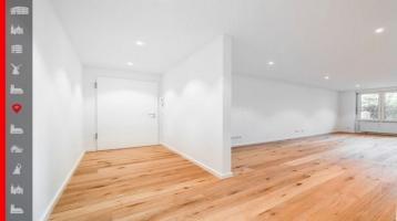 Vollständig modernisierte 2-Zimmer-Wohnung mit einer traumhaften Südwest-Terrasse