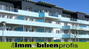 1707 - Wohnungstraum: 4 Zimmer-Neubau-Eigentumswohnung mit großem Süd-Balkon in Hof-Krötenbruck