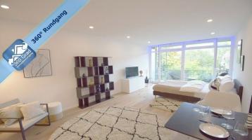 Modern renovierte & möblierte 1,5-Zimmer-Eigentumswohnung mit ruhiger Innenhofausrichtung im Lehel