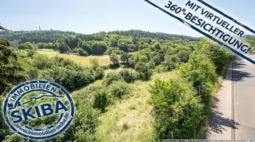Ortsrandlage mit unverbaubarem Blick ins Grüne: Baugrundstück in Adenau