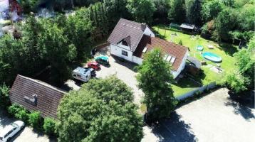 Halberstadt Alles unter einem Dach mit großem Gartenbereich und Gewerbeanteil