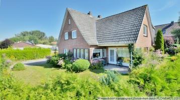 Klassisches Familienhaus-Rotklinker-solide Substanz-3 Wohnungen denkbar