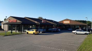 Fachmarktzentrum in verkehrsgünstiger Lage