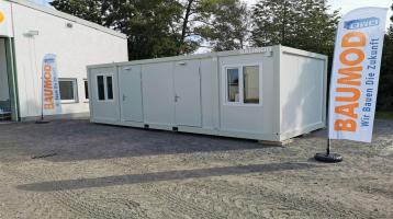 Bürocontainer 3x7 Meter WC Küche 2 Zi.RIESIG Staplertaschen B3004