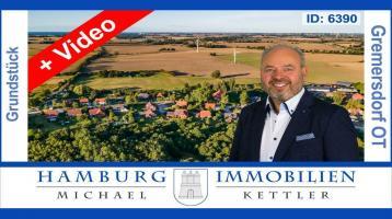 Ca. 690 m² Baugrundstück für Einfamilienhaus Bungalow in 23758 Gremersdorf / Jahnshof