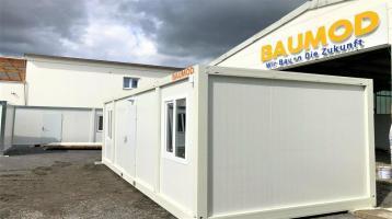 Bürocontainer 2 Zimmer getr. 3x7 Meter STAPLERTASCHEN Neu B2001