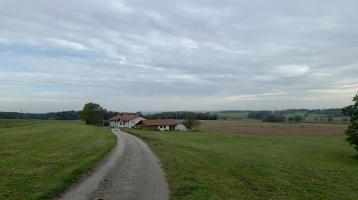 Landw. Anwesen b. Dorfen, 3ha Grund, Wohnh., sonnige Alleinlage