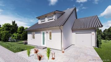 SMART neu bauen in Waldsassen - Grundstück, Bodenplatte inklusive.