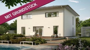 Moderne Stadtvilla als neues Heim in ruhiger Lage (inkl. Grundstück & Kaufnebenkosten)