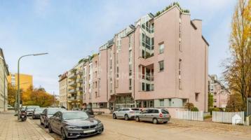 Einzigartige Designwohnung auf 4 Ebenen mit Terrasse und Wellnessbad in München