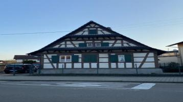 denkmalgeschütztes Fachwerkhaus mit Erweiterungspotenzial in Rastatt-Wintersdorf!