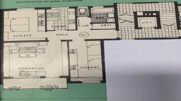TOP Lage Schwabach ! Sonnige 3 Zimmer Wohnung mit Blick ins Grüne