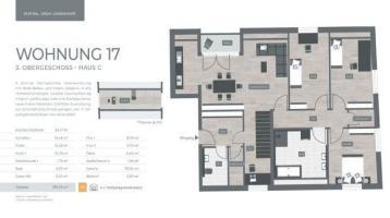 ZENTRAL. GRÜN. LEBENSWERT LANDSHUT 034 Haus C Nr.17 - 3.Obergeschoss 5-Zimmer