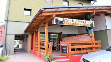 Beliebtes Steak-House mit zwei Wohnungen