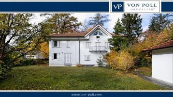 Einladendes Grundstück mit charmanter Villa für die ganze Familie.