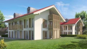 Doppelhaushälfte in Holzbauweise für ein Wohlfühl-Raumklima
