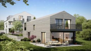Provisionsfrei: Neubau, ruhig gelegenes 4-Zimmer-Einfamilienhaus mit traumhaften Bergblick in Ebersberg (S4)