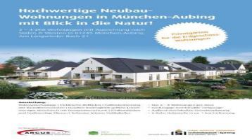München-Aubing! 2-ZKB Obergeschoss-Wohnung mit 5,6 m² West-Balkon, elektrischen Rollläden, Fußbodenheizung, Videosprechanlage und Dusche bodengleich!