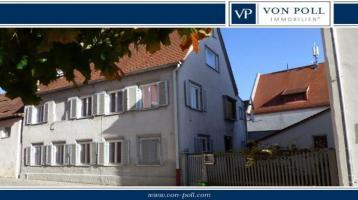 Ihr Traum in der Altstadt: 1- bis 2-Familienhaus mit Hoffläche in Nördlingen