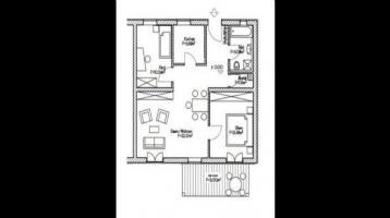3-Zimmer-Wohnung mit 73 m² Wfl. im 2. OG, Bj. 2007