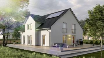 Strahlend und lauschig - ein Traumhaus für die Familie