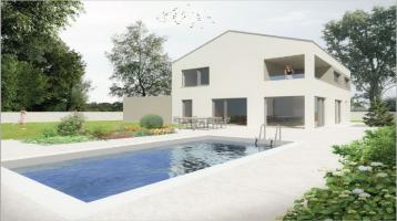 Neubau - Grundstück mit Einfamilienhaus