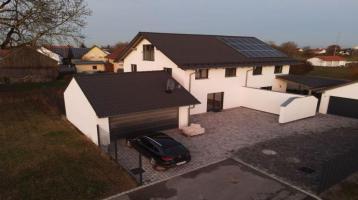 Neubau-Doppelhaushälfte in Alburg