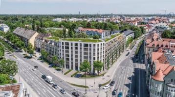 Stilvolle Gewerbeeinheit mit großem Schaufenster - Neubau Plaza Pasing