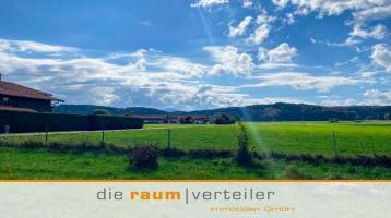 5 FH in unverbauter Bergblick & Südausrichtung: ein ganz besonderes Grundstück in Bruckmühl-Götting