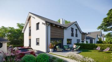 Modernes Doppelhaus für 2 Familien - Wielenbach/Hardt