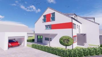 Neubau: 2 Doppelhaushälften in Bestlage von Steppach!