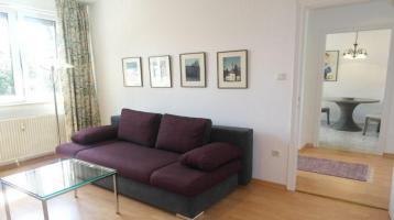 Maxvorstadt: 1-Zimmer-Wohnung mit Wohnküche möbliert, lukrative KA oder Selbsbezug