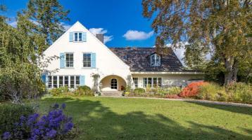Sehr charmante Altbau-Villa mit prächtigem Südgarten