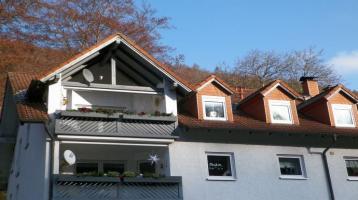 ETW in Bad Berneck auf zwei Ebenen, 3-Zi.-Whg. und Dachstudio