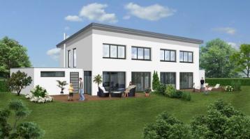 KfW55: Hochwertige Doppelhaushälfte in Massivbauweise