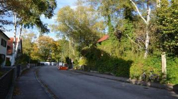 Grundstück mit Altbestand für Bauvorhaben in Ramersdorf