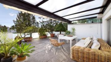 Großzügige Penthouse-Etage mit herrlicher Dachterrasse