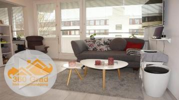 WOHNWELT IMMOBILIEN: Vollständig renovierte, traumhafte 1-Zimmer-Wohnung mit Süd-Balkon