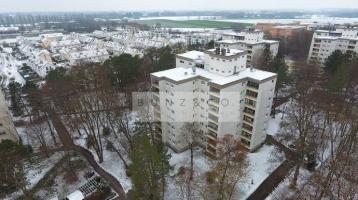 Gemütliche Etagenwohnung mit Süd-Loggia ins Grüne!