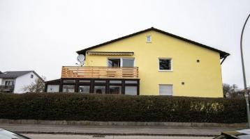LANDSHUT WEST ca. 103m² 3 Zi-Whg + Einliegerwohnung, Balkon, Gartenanteil, Garage mit Stellplatz