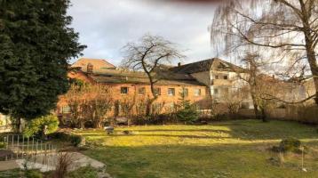 Projektiertes Grundstück (G2) mit genehmigten Bauvorentscheid im ältesten Stadtteil von Bayreuth