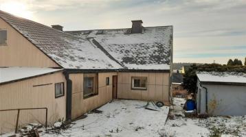 Handwerkerobjekt- Doppelhaushälfte in Helmbrechts