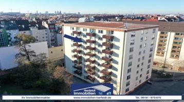 Gemütliche 1-Zimmer-Wohnung mit Aufzug in Schwabing-West