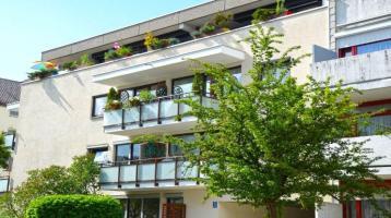 3 Zi. Dachgeschoss-ETW in München mit überdachter Südterrasse
