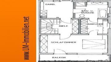 Doppelhaushälfte mit Garage und Garten