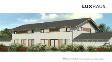 Doppelhaushälfte im Allgäu mit 205m² WohnNutzfläche | KFW55 | Neubau