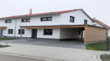 Neue Doppelhaushälfte sofort bezugsfertig in Burgbernheim, Rosenapfelstr. 20