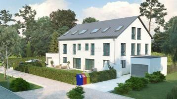 Wohnen im Grünen - vier exklusive Neubau-Reiheneckhäuser mit Garten zu verkaufen